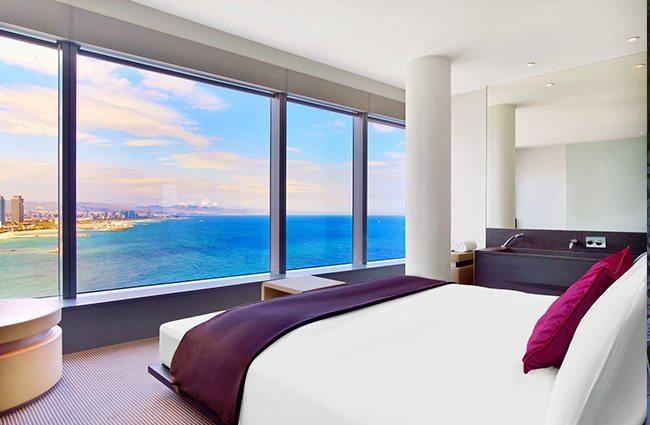 W barcelona spain grand prix hotel rooms gpexperiences for W hotel barcelona spa