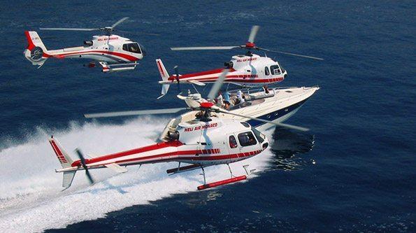 Monaco heli-offshore experience