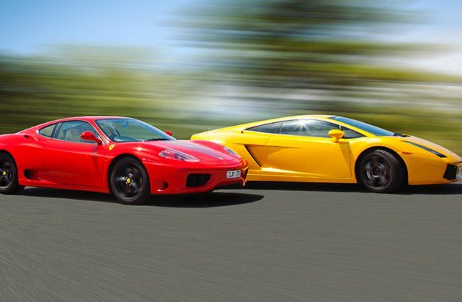 Lamborghini And Ferrari Driving In Melbourne Gpexperiences