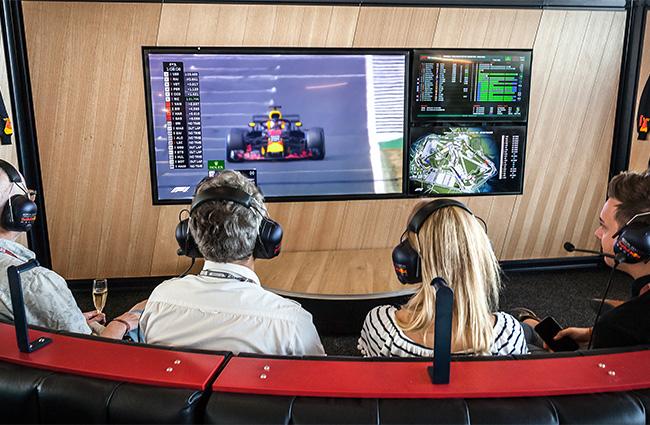 Aston Martin Red Bull Racing Hospitality Tickets   GPexperiences